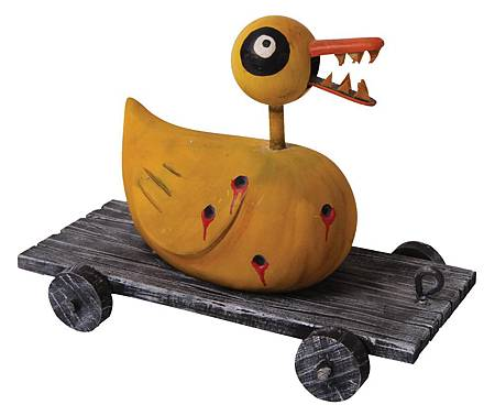1041 Double-scale duck toy with teeth from The Nightmare Before Christmas 30,000 USD.jpg