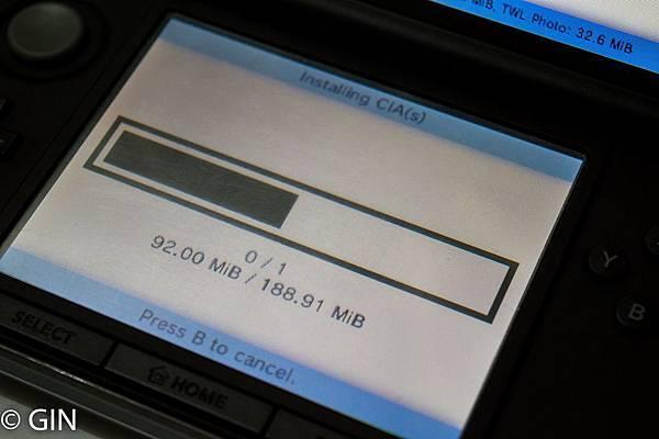 3DS測試教學】3DS 下載& 安裝CIA格式遊戲教學@ GIN 遊戲  旅遊  生活