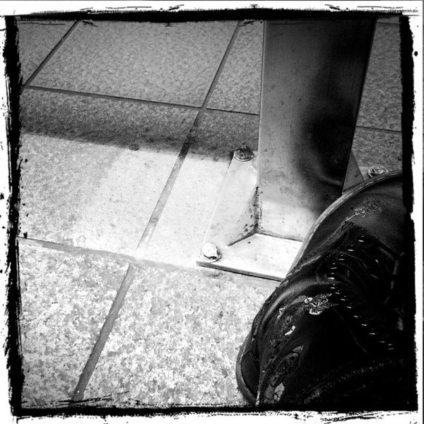20110209 Taipei, my boot