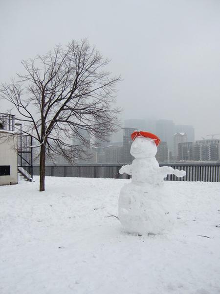 別人的雪人