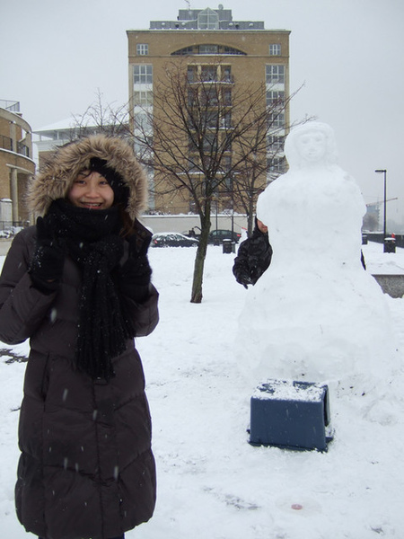 IRIS和很大的雪女