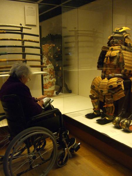 日本區武士鎧甲