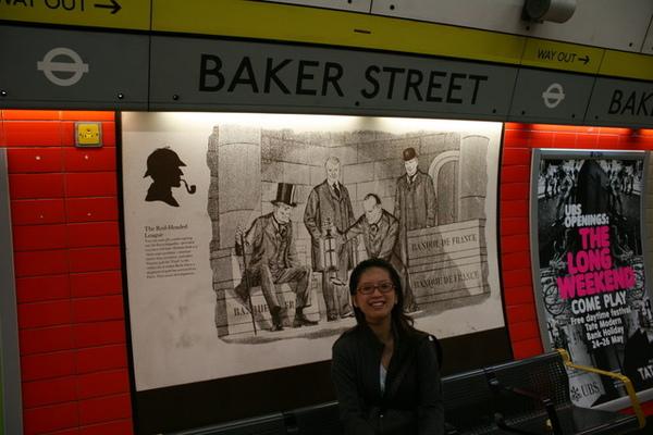 BAKER ST.地鐵站