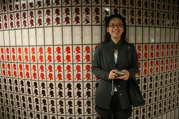 地鐵站內福爾福斯的牆壁