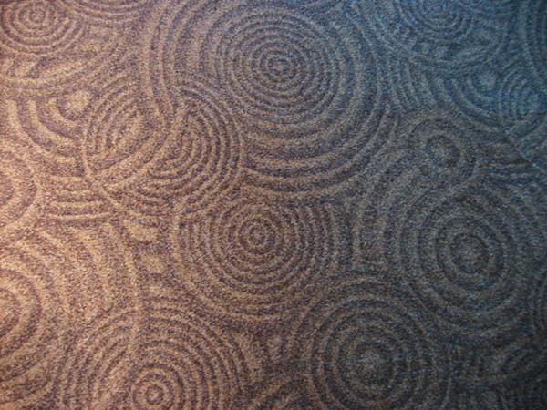 地毯上的花紋