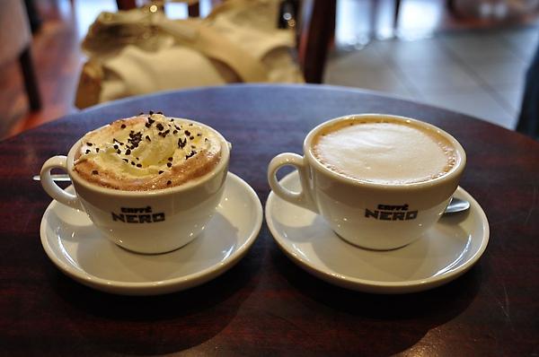 咖啡和巧克力