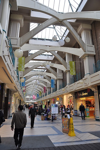 oxford的shopping centre