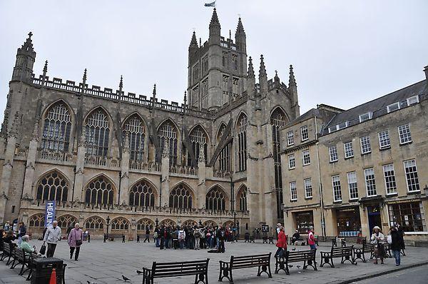 這是bath abbey教堂
