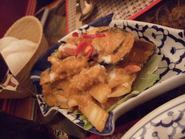 啦啦~這是第一道海鮮的菜!