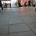 台北車站不管哪時候都很多人