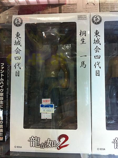 在某家二手模型店看到阿叔的模型!