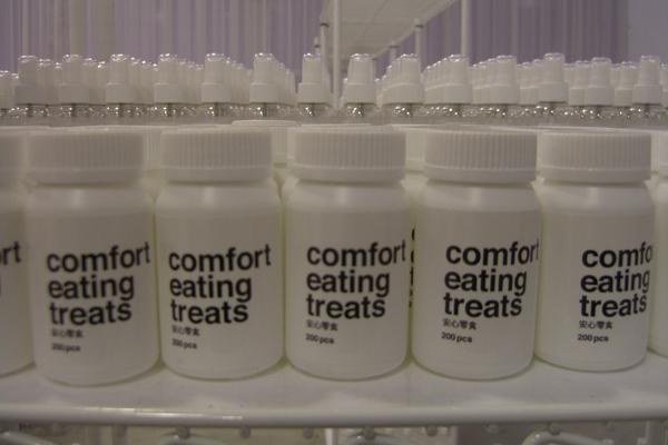 comfort  eating treats