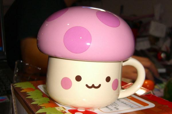 靜心的蘑菇杯