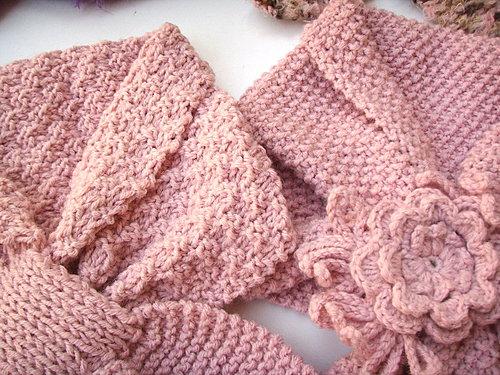 春之漾領巾+卡哇伊芒果形領巾
