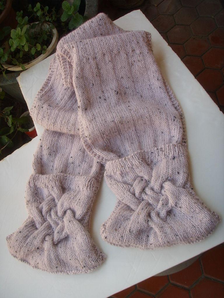 小胖の手作-菱形麻花圍巾披肩