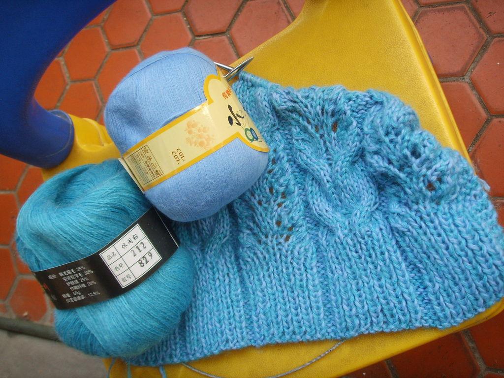 勞倫拉爾夫 Wheaten 圍巾-開織ing