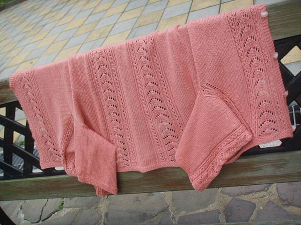 Top-Down Knitting 縷空花外套