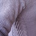 不對稱立體枝椏長袖上衣