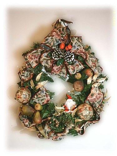 1993年手作--聖誕花圈