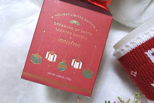 innisfree 2018 綠色聖誕 聖誕老人香氛蠟燭