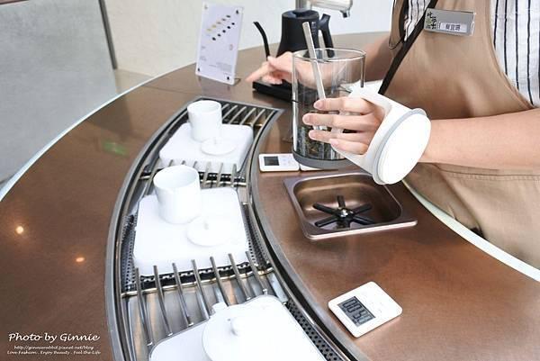 吃茶三千 台中 大英概念店 品鑑區