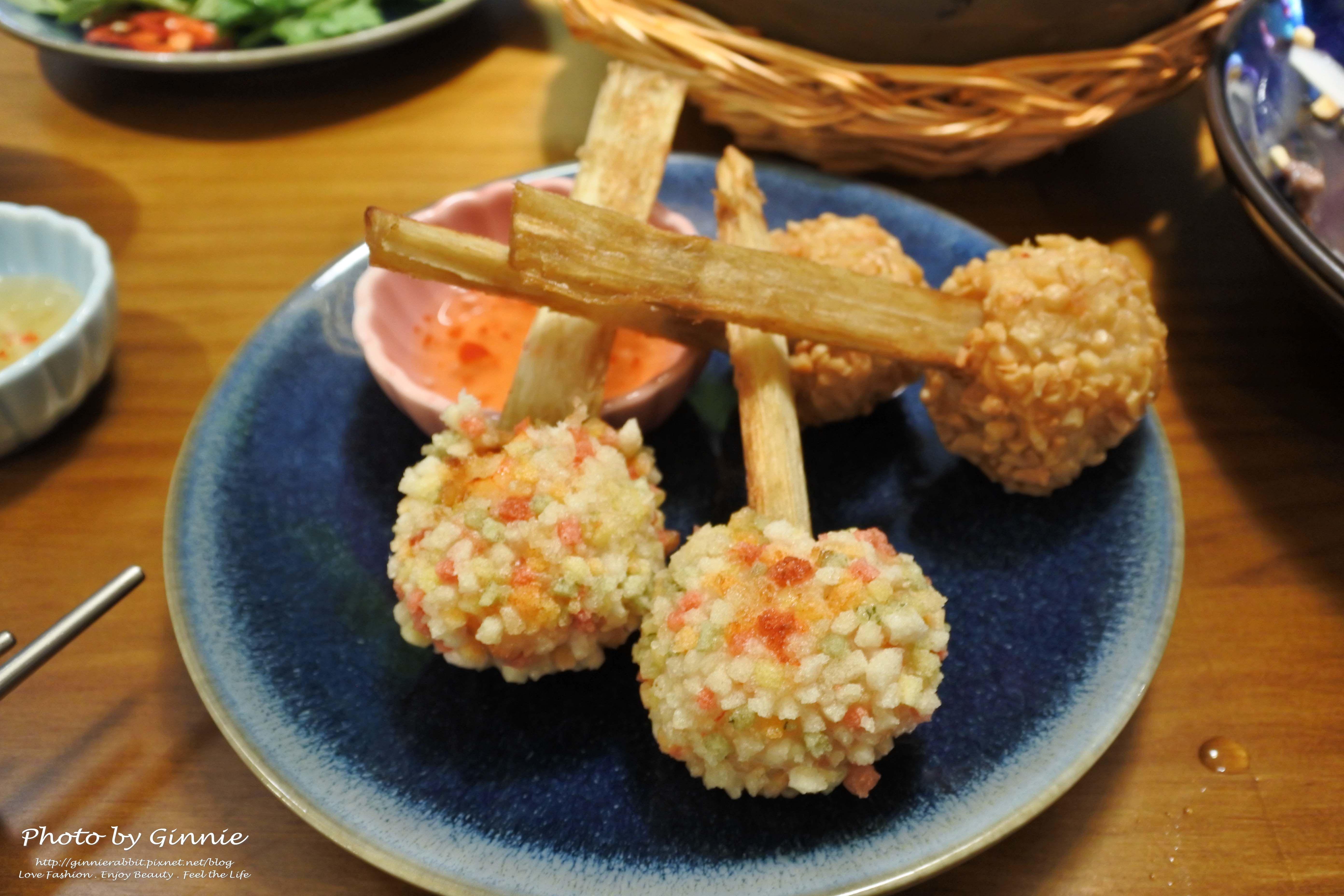 沐越 台中公益店 雙味甘蔗蝦