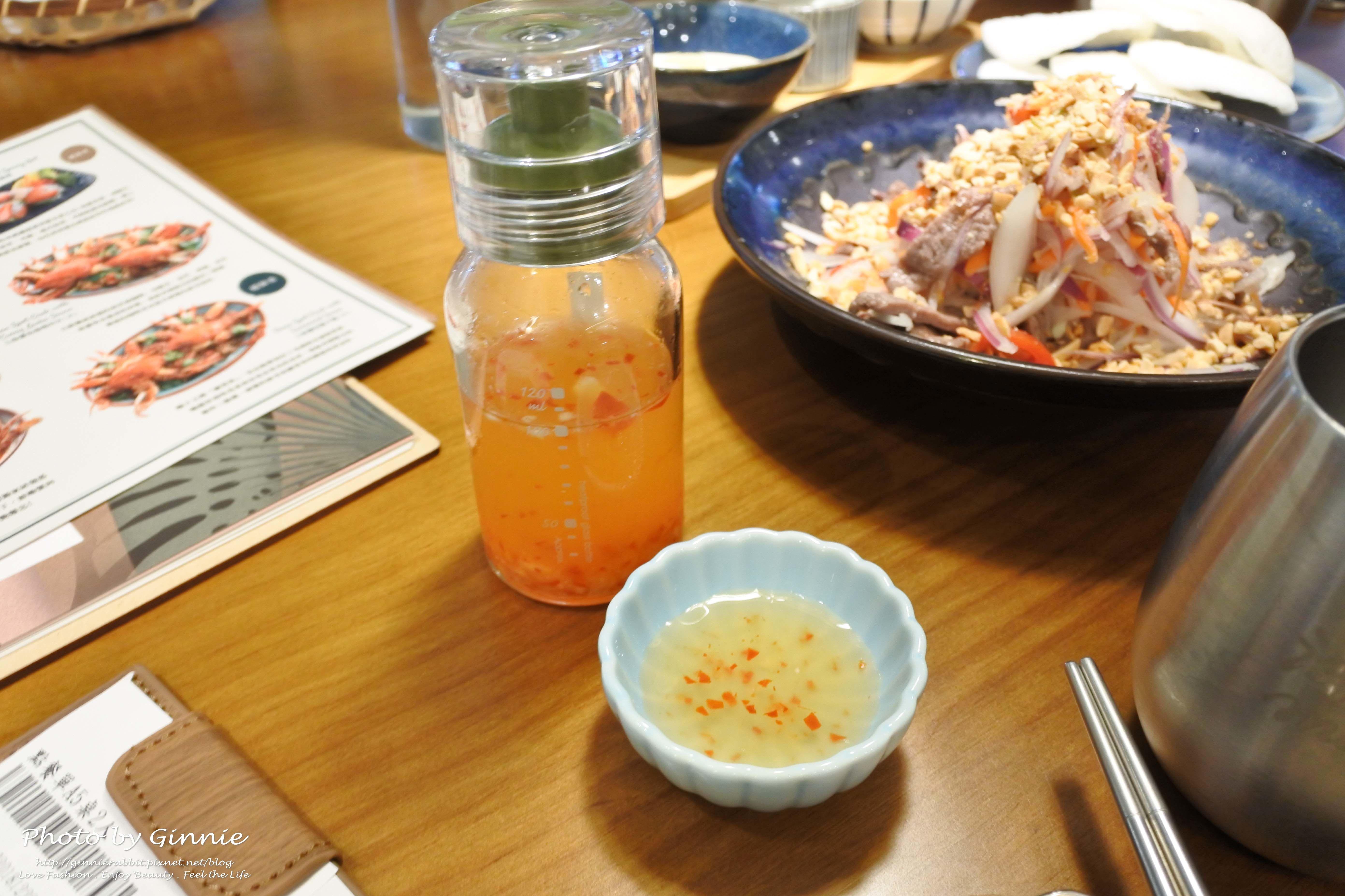 沐越 台中公益店 特調酸辣醬