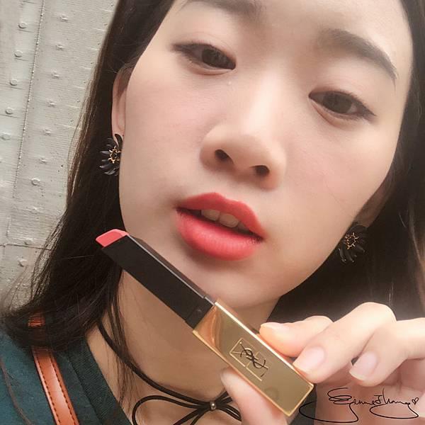 YSL 奢華緞面絲絨唇膏 小金條 #11 柔瑰粉
