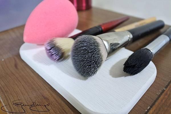 芳澄 美妝刷具海綿清潔液 成效