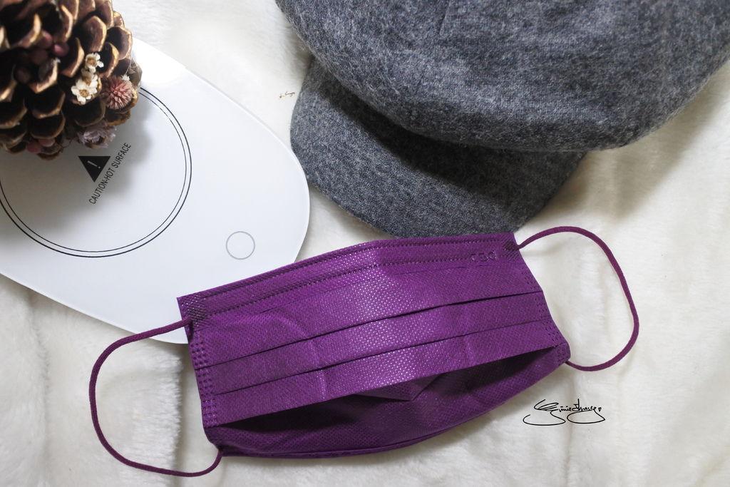 CSD中衛時尚口罩 炫霓紫