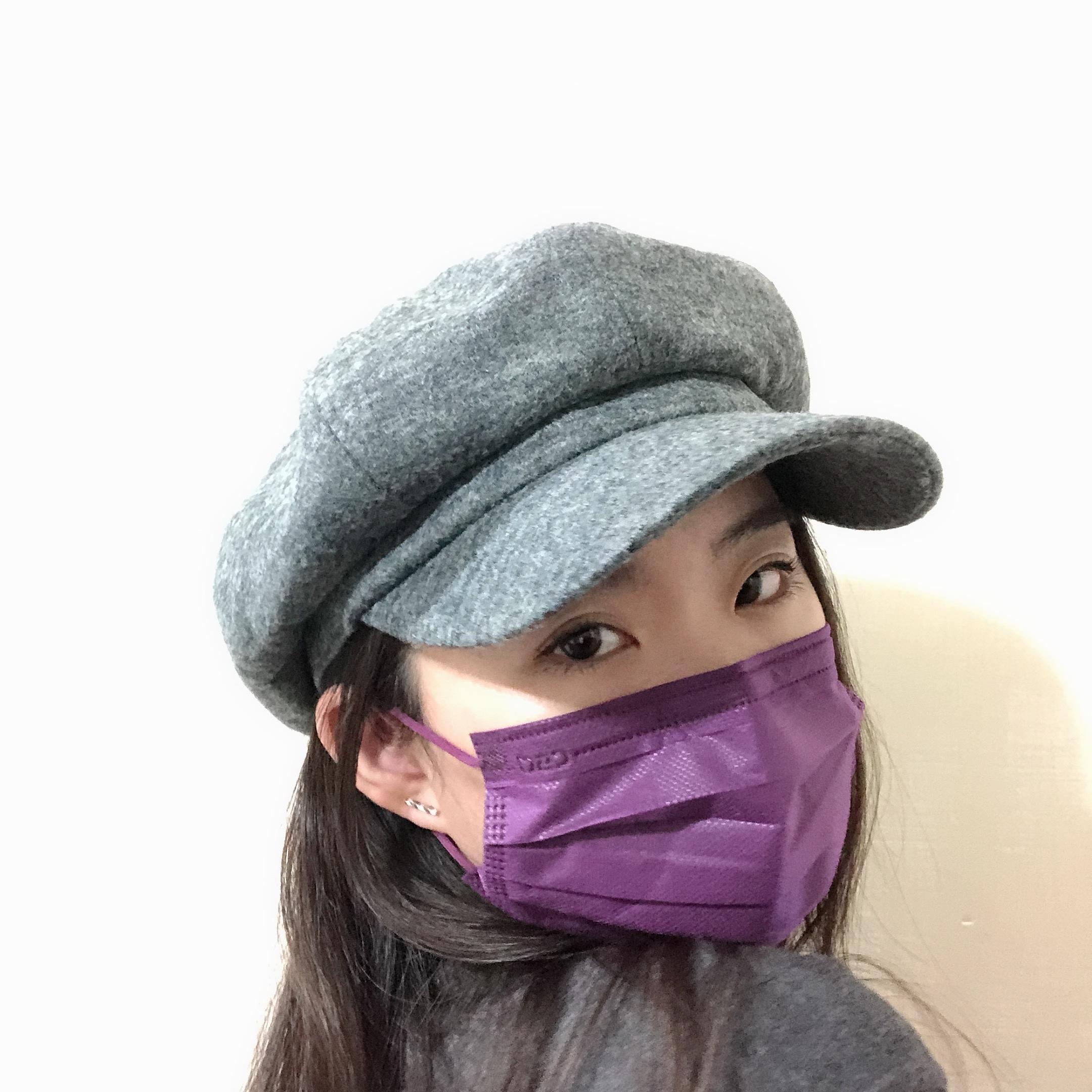 CSD中衛時尚口罩 炫霓紫 口罩小臉秘訣