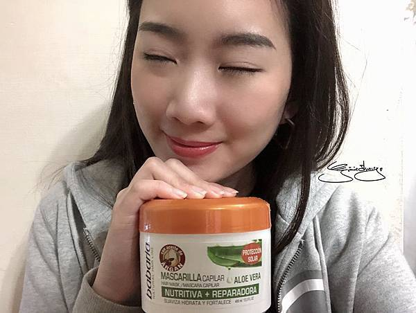 babaria摩洛哥油蘆薈護色潤澤護髮膜