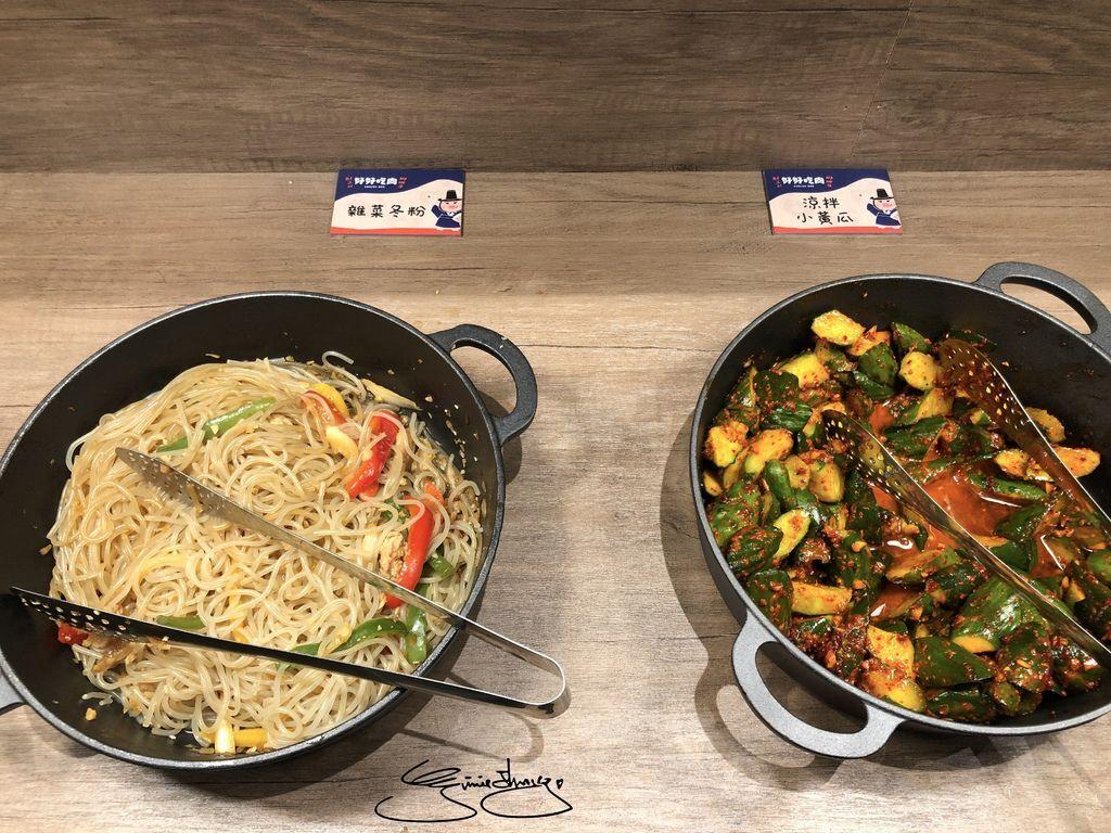 好好吃肉韓式烤肉吃到飽 台中公益店 小菜