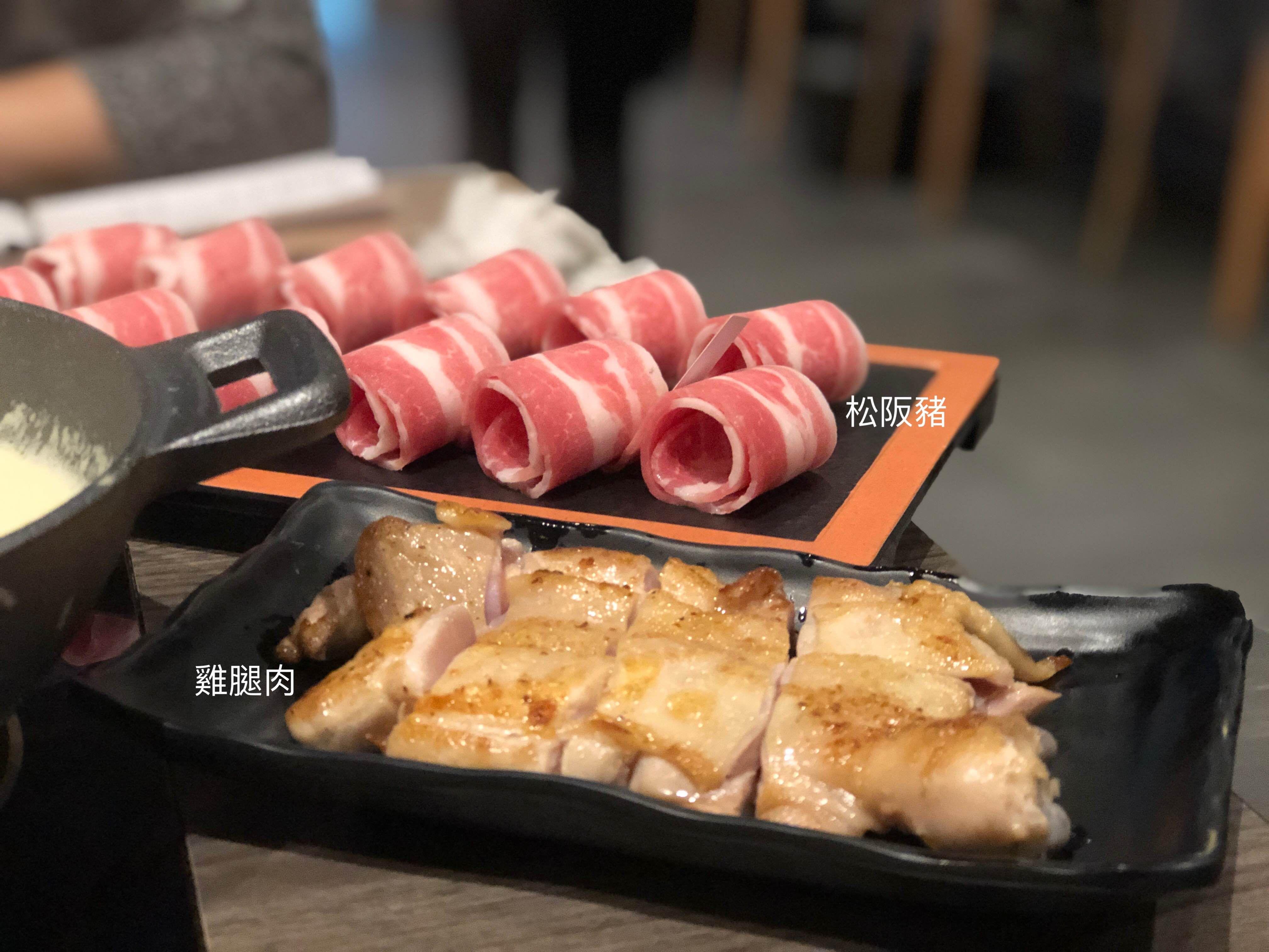 隱鍋台中公益店 松阪豬 雞腿肉