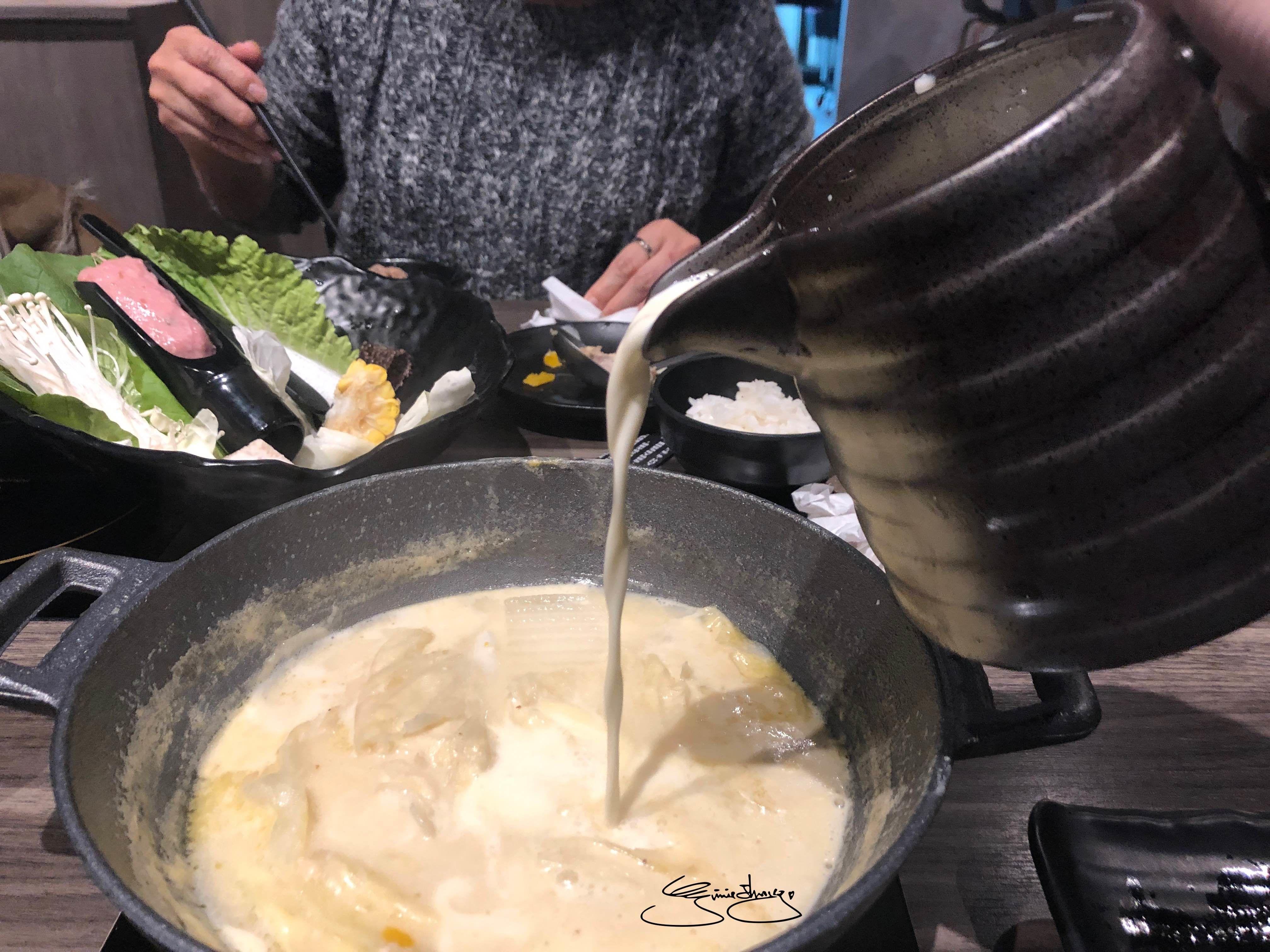 隱鍋台中公益店 牛奶起司鍋