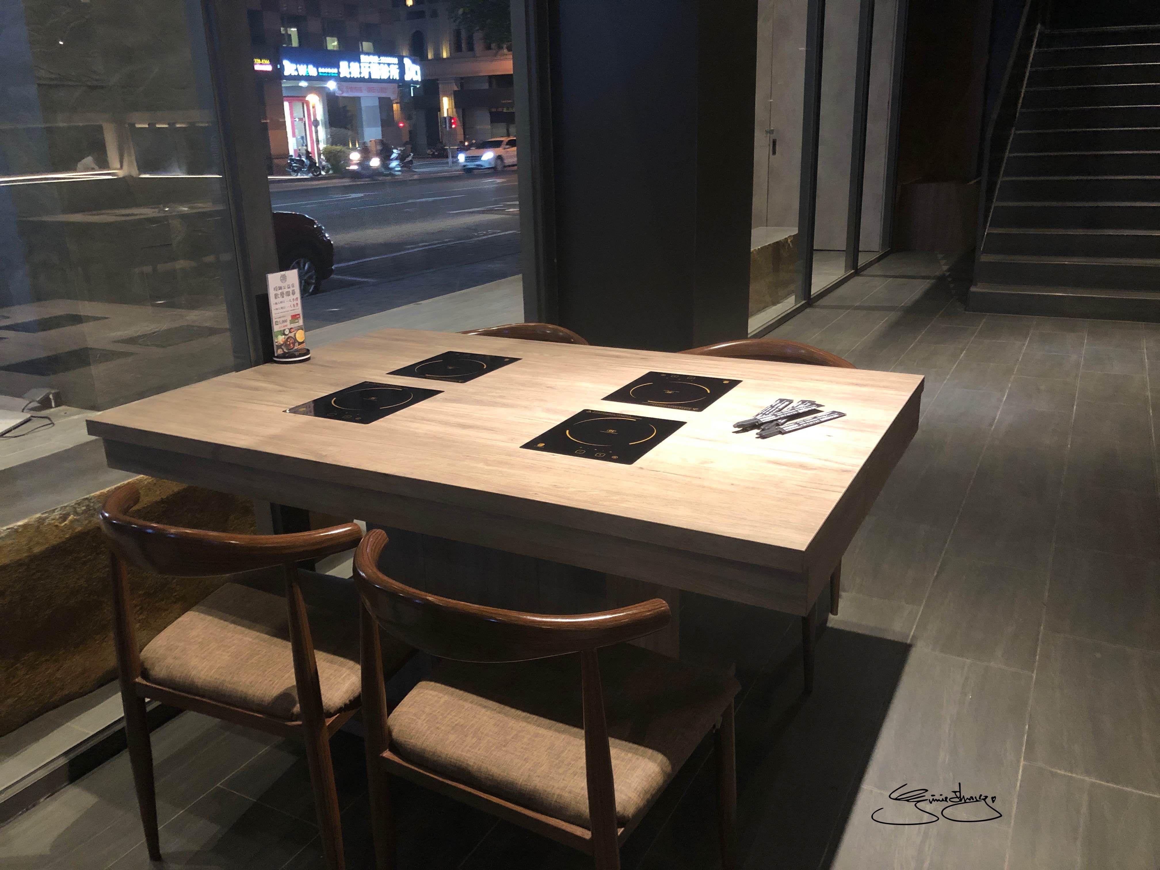 隱鍋台中公益店 座位區