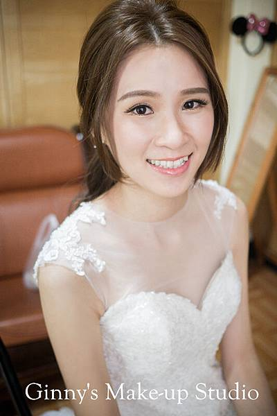 化妝Make-up GinnyWang 髮型Hairstyle GinnyWang