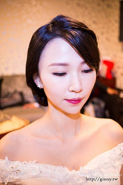 Make-up%26;hairstyle GinnyWang Location 新竹煙波大飯店