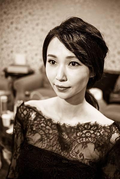 Make-up%26;hairstyle GinnyWang Location 新竹煙波大飯店