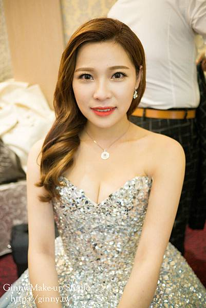 Make-up%26;hairstyle GinnyWang Location 新竹魚池婚宴會館