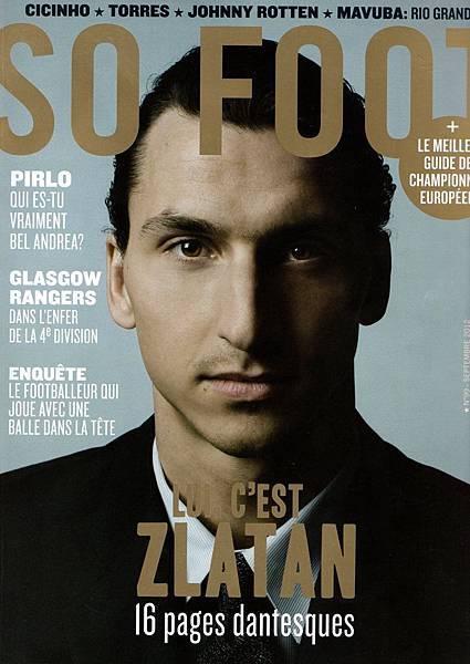 伊布登上法國足球雜誌 So Foot