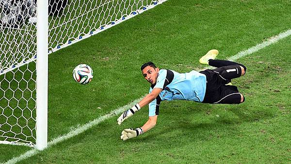 Navas saves