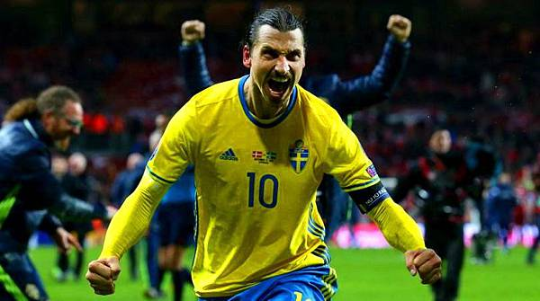 Ibra leads the Swedes through