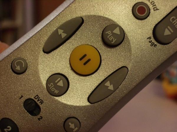 TiVo遙控器的即時錄與即時停