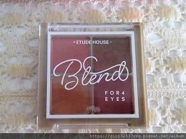 108.05.07~很顯色的ETUDE HOUSE眼影盤