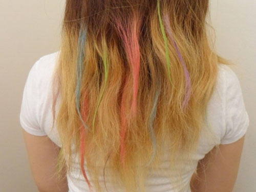 彩色挑染 Hair Color Chalk
