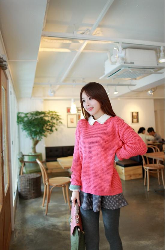女生 穿搭 2013 流行 韓國