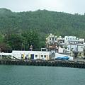 阿嘉送信的小漁港