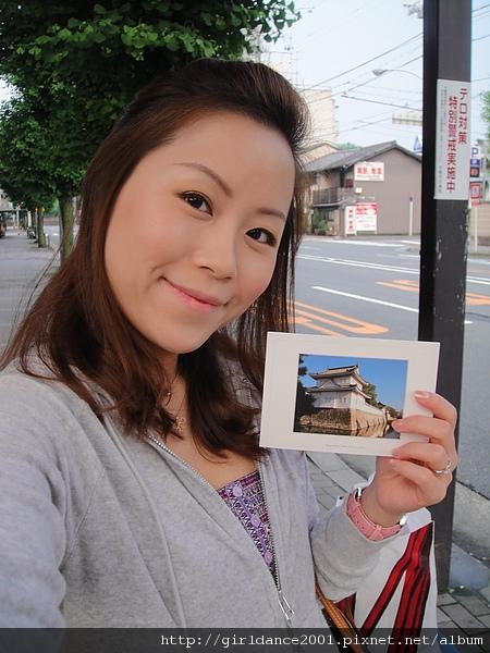 互相從日本寄回的明信片