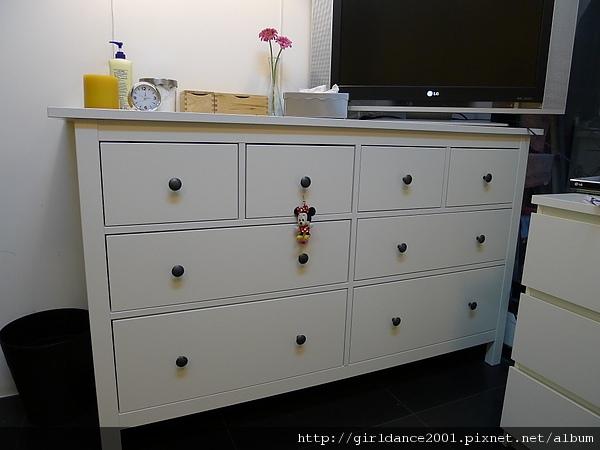 IKEA臥室多功能收納櫃